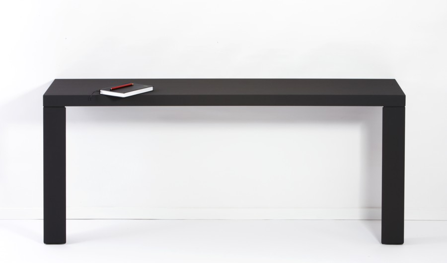 Textbook AO4 Dark Black console table