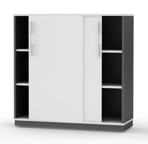 Storage cupboards, cabinets, lockers