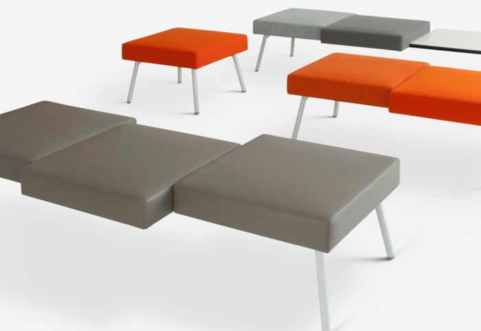 HM101 bench seating