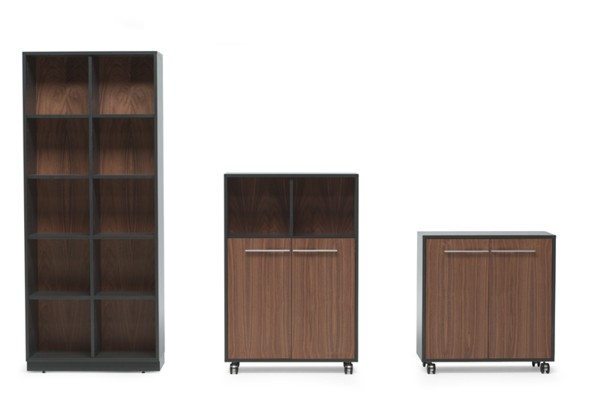 ARKI+ various heights Walnut+Grey