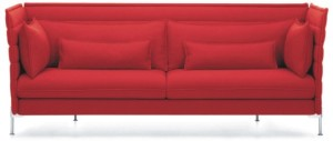 Alcove medium back 2-seat sofa