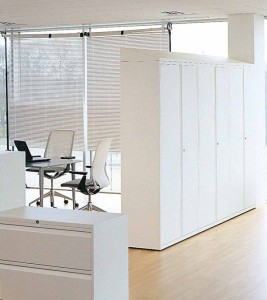 Tall storage as room divider