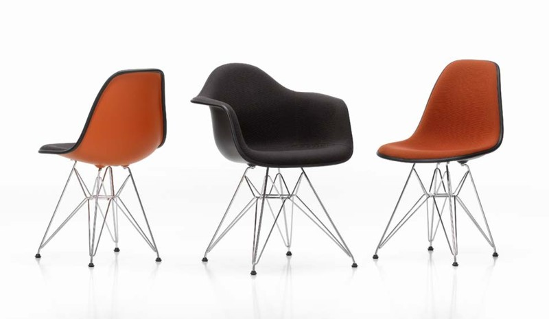 Eames rod group upholstered
