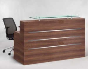 Eclypse reception desk - straight
