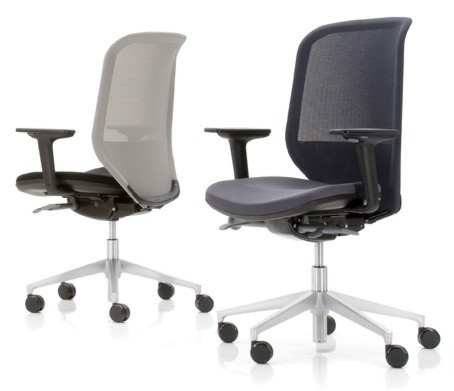 Joy chairs with mesh back