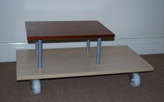 Made-up coffee table