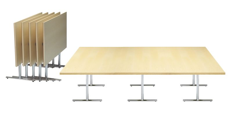 Tempest flip-top table