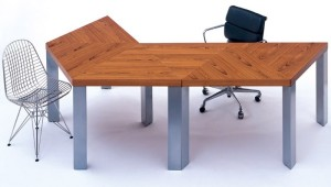 Textbook's A Series Teak desk