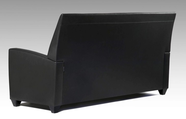 Uptown sofa rear view