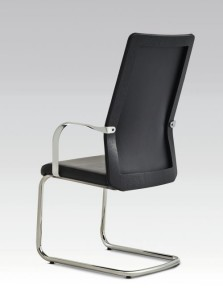 MN1 chair, high back, cantilever base