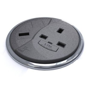 Porthole power outlet