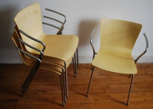 Collector's stacking chairs