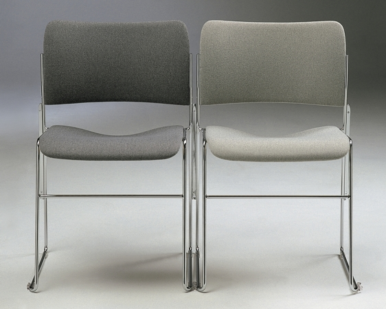 40_4 grey fabric chairs + fin linking