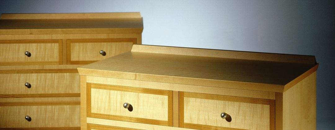 artfully proportioned functional chest of drawers reinforces design values with manufacturing excellence