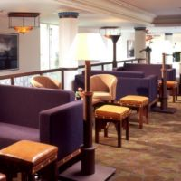 Hand-crafted furniture in an exclusive hospitality setting