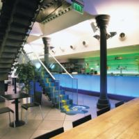 Vibrant and dynamic social space in the workplace