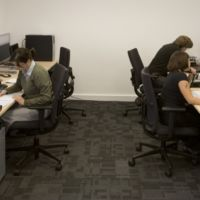 Collectiveefficient productive workspace enables concentrated thought