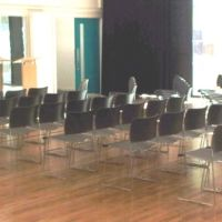 Lectures and seminars in performing arts studio