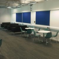 Industrial feel for informal meetings and quiet study