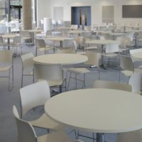 Cool calm catering in a busy school
