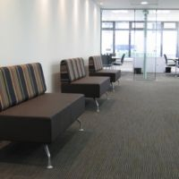 Attractive and comfortable waiting space for your visitors